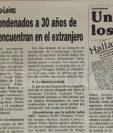 Catalino Esteban Valiente Alonzo fue juzgado en Guatemala por el asesinato de dos estudiantes universitarios, apeló la condena y salió libre. (Foto Prensa Libre: Hemeroteca PL)