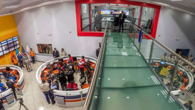 Vista del nuevo salón que fue inaugurado en la sede de Conred. (Foto Prensa Libre: Cortesía Conred)