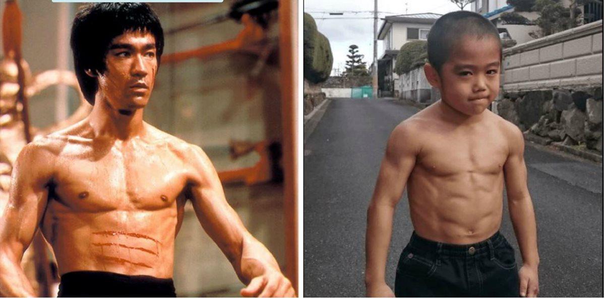 Niño impresiona por ser tan veloz y letal como Bruce Lee