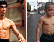 """El """"mini Bruce Lee"""" ha ganado fama por su impresionante velocidad y agilidad. (Foto Prensa Libre: Ryuji Imai/Facebook)"""