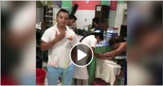 Sancionan a un enfermero del Hospital Nacional de San Benito por no atender a mujer herida