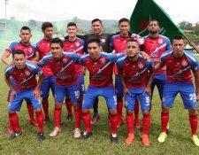 Xelajú MC busca mantener una buena base de jugadores para la próxima temporada. (Foto Prensa Libre: Raúl Juárez)