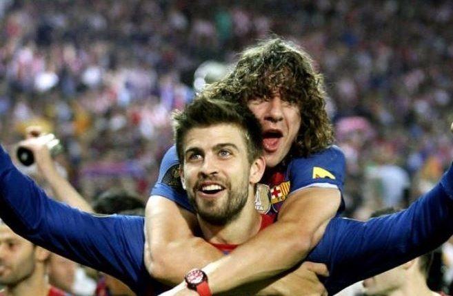 La amistad de Carles Puyol y Gerard Piqué va más allá del Barcelona. (Foto Prensa Libre: Instagram Puyol)