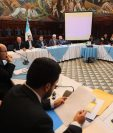 Rectores de 11 de 15 universidades del país eligieron a Félix Serrado presidente de la comisión postuladora de contralor General. (Foto Prensa Libre: Oscar Rivas)