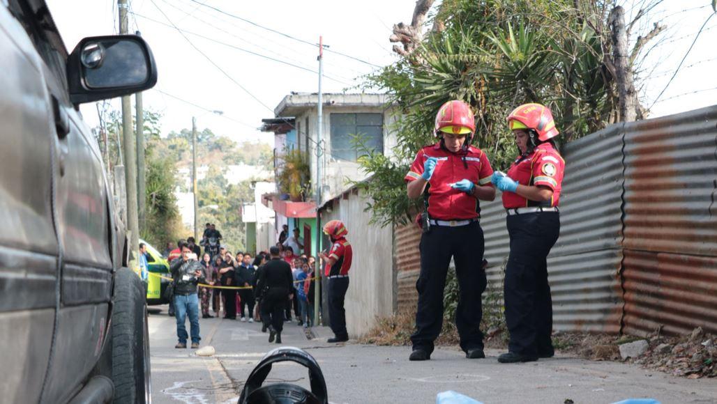 Socorristas llegaron al lugar del hecho, pero el menor ya había fallecido. (Foto: Bomberos Municipales)