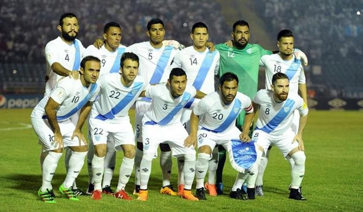 Este es el cuadro de la Selección Nacional que se enfrentó a Estados Unidos el 25 de marzo del año pasado. (Foto Prensa Libre: Hemeroteca PL)