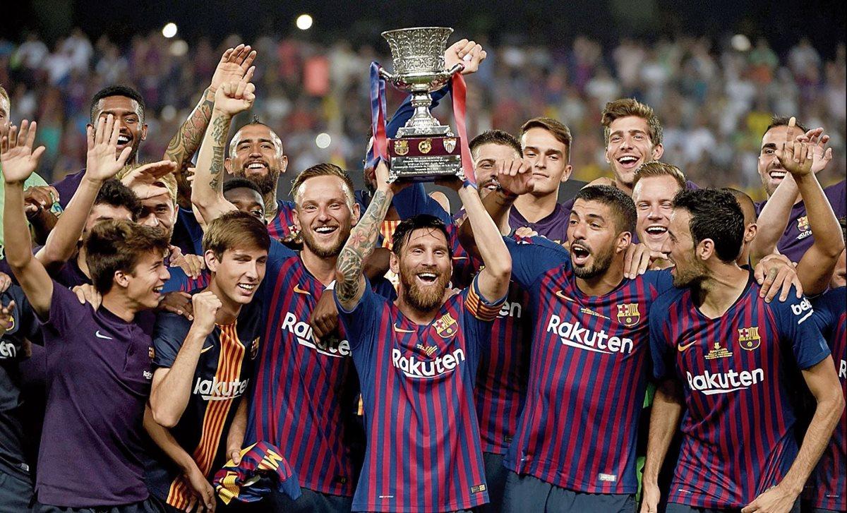 Lionel Messi espera celebrar con el Barcelona en este año. (Foto Prensa Libre: Hemeroteca PL)