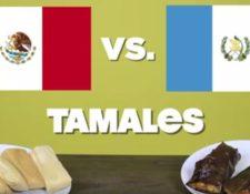 En la búsqueda del mejor tamal participaron varias personas que degustaron ambos platillos. (Foto Prensa Libre: Facebook We are mitú)