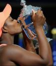 Stephens fue tan sólo la quinta mujer en ganar un Grand Slam sin haber estado entre las tenistas preclasificadas. (Foto Prensa Libre: BBC Mundo)