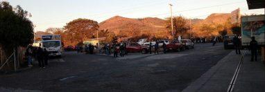 Antonio Jiménez Cruz murió arrollado en el km 123 de la ruta Interamericana, Jutiapa. (Foto Prensa Libre: La Red)