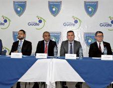 Este es el Comité de Regularización impuesto por la Fifa. (Foto Prensa Libre: Hemeroteca PL)