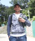 El portero de Comunicaciones, Javier Irazún, está feliz de solo haber recibido un gol en cinco jornadas. (Foto Prensa Libre: Francisco Sánchez)