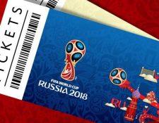 Los boletos para asistir a los partidos de Rusia 2018 se venden únicamente en la página oficial de FIFA. (Foto Prensa Libre: Hemeroteca)