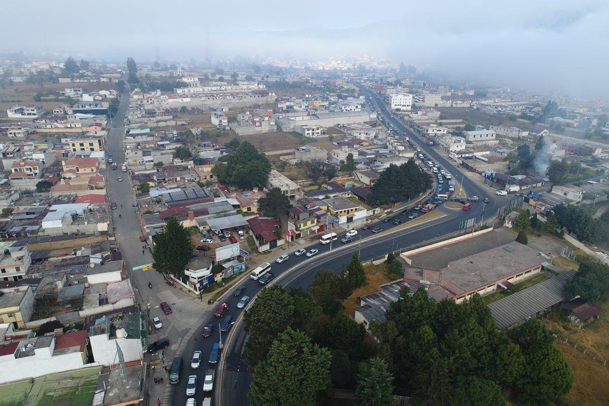 Concejo de Xela conocerá propuesta para reducir embotellamientos en zona 8