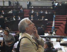 Oliverio García Rodas declinó su candidatura a la presidencia del Congreso. (Foto Prensa Libre: Hemeroteca PL)
