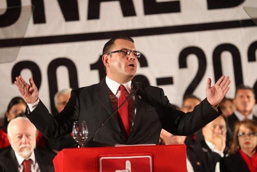 El Ministerio de Relaciones Exteriores de Guatemala confirmó en enero pasado que Manuel Baldizón fue detenido a su ingreso a EE. UU. y solicitó asilo a la Oficina de Protección de Refugiados en ese país bajo el argumento de que sufre persecución política. (Foto Prensa Libre: Hemeroteca)