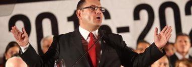 Manuel Baldizón fue detenido a su ingreso a EE. UU. en enero del 2018. (Foto Prensa Libre: Hemeroteca PL)