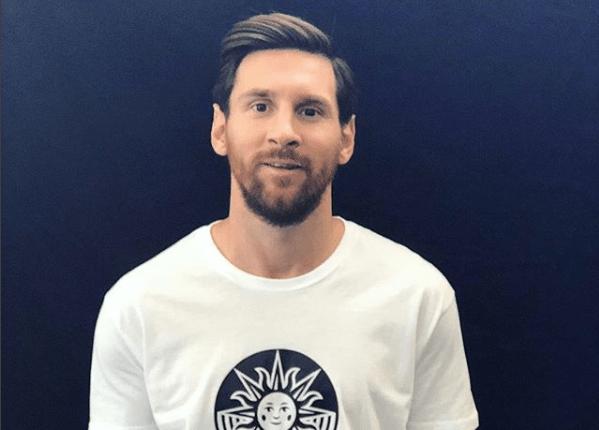 El astro argentino Lionel Messi lleva su vida al circo. Foto Prensa Libre: Instagram)