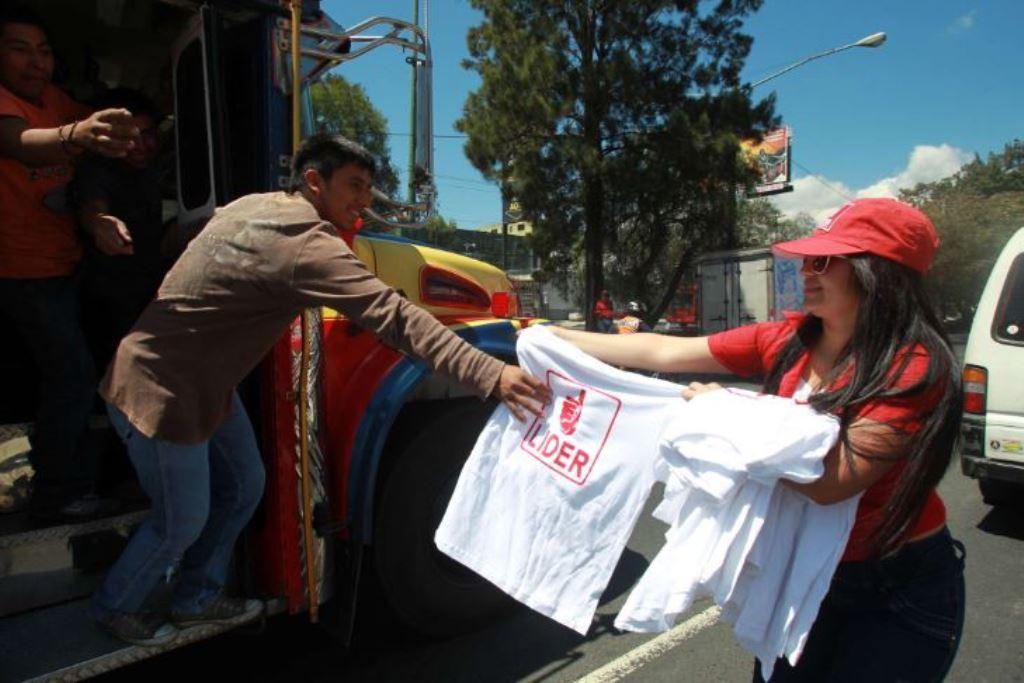 El financiamiento ilícito y el no reportado impone penas de uno a cinco años de prisión. (Foto Prensa Libre: Hemeroteca PL)