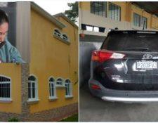 Una lujosa casa y un carro blindado son algunas de las pertenencias extinguidas a exsecretaria de juzgado de Puerto Barrios. (Fotos Prensa Libre: Carlos Hernández/Ministerio Público)