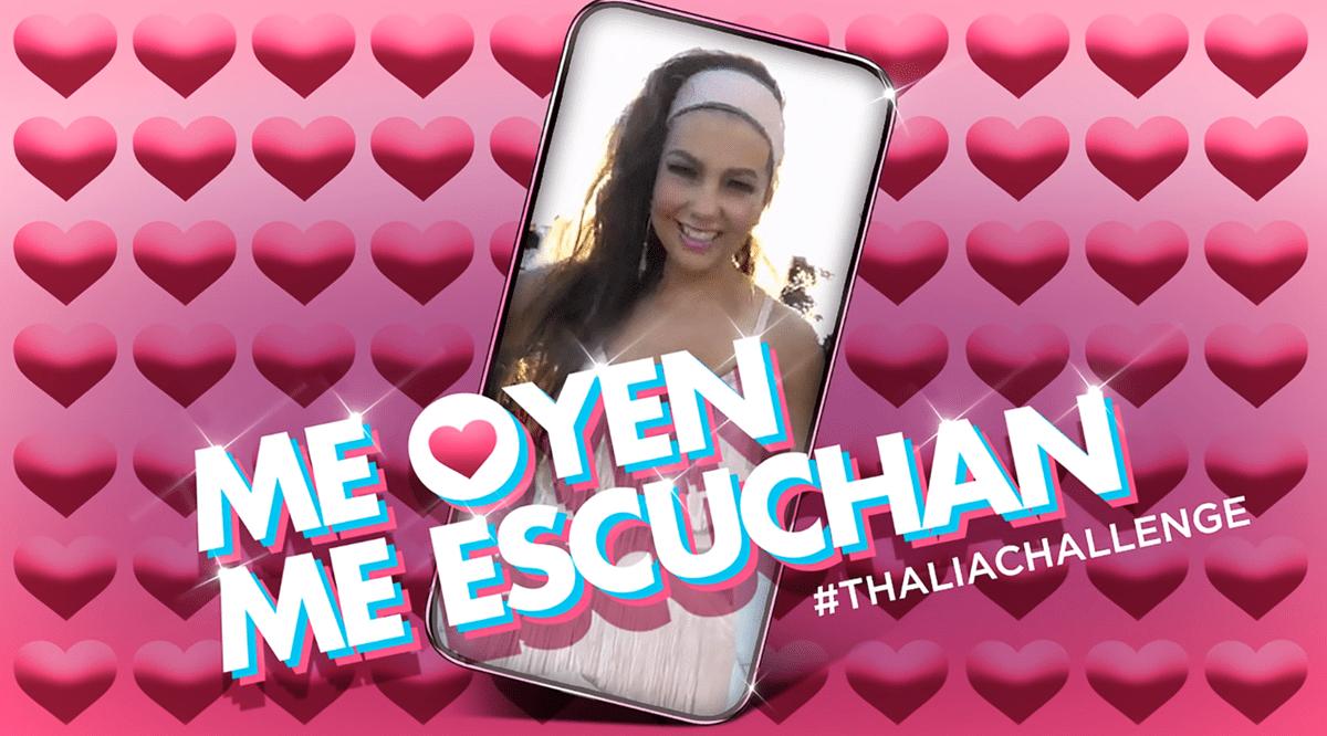 Thalía presentó un nuevo sencillo con su viral de redes sociales (Foto Prensa Libre: YouTube).