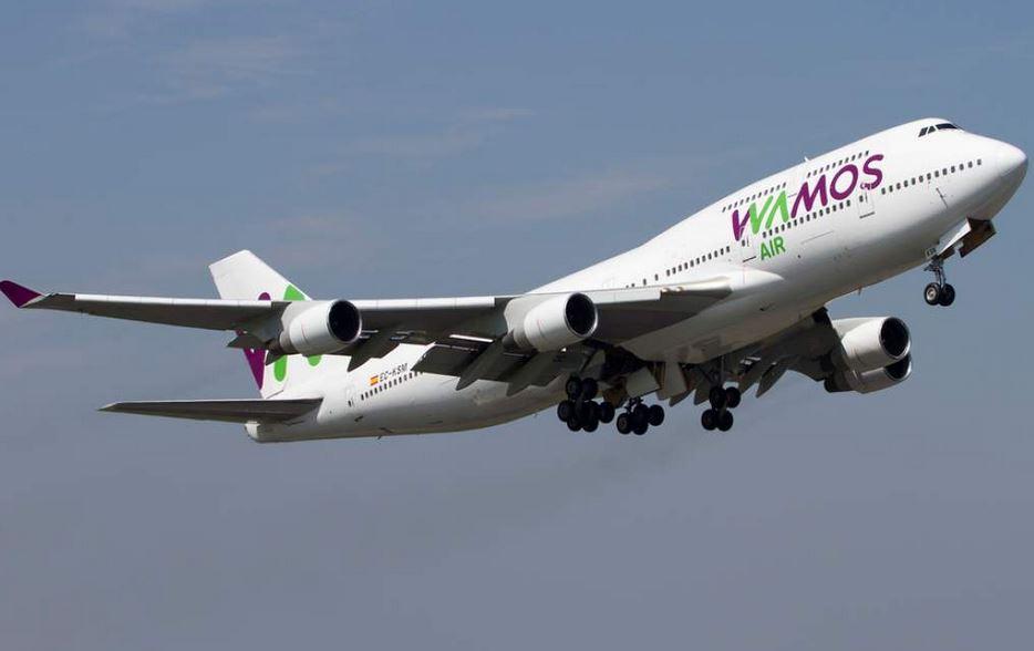 Vuelve a operar en Guatemala la española Wamos Air