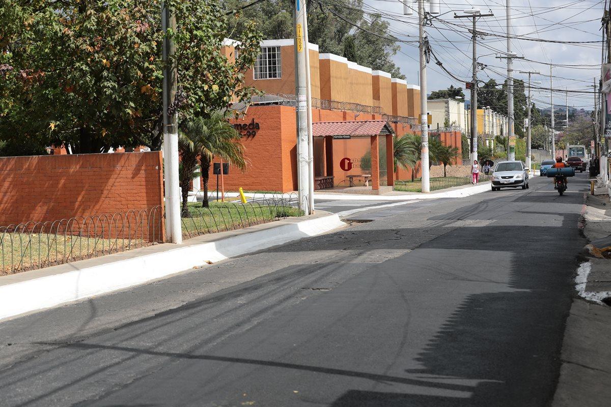 Una de las colonias del área El Encinal en la zona 7 de Mixco. (Foto Prensa Libre: Álvaro Interiano)