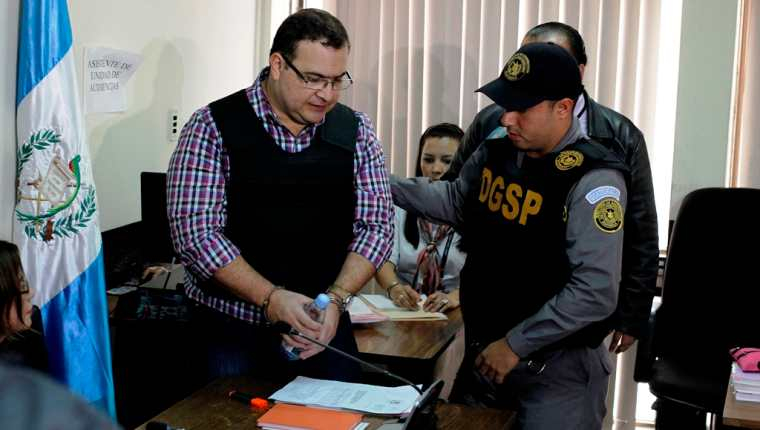 El exgobernador de Veracruz dijo que ingresó en Guatemala hace seis meses. (Foto Prensa Libre: Paulo Raquec)