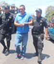 William Stanley fue detenido en Escuintla. (Foto Prensa Libre).