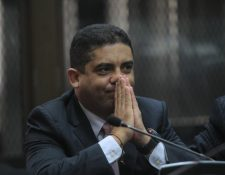 Juan Carlos Monzón, exsecretario privado de la ex vicepresidenta Roxana Baldetti, brindó su declaración en anticipo de prueba. (Foto Prensa Libre: Hemeroteca PL)