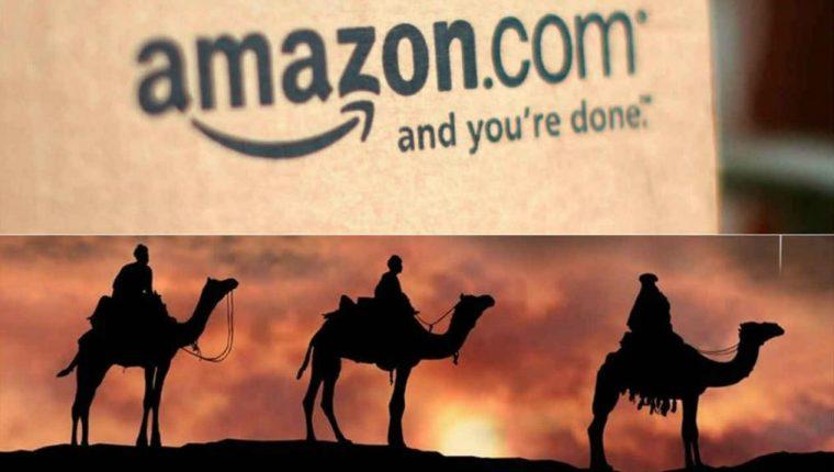 Amazon facilitará la compra y envío de regalos para el Día de los Reyes Magos. (Foto Prensa Libre: Forbes México)