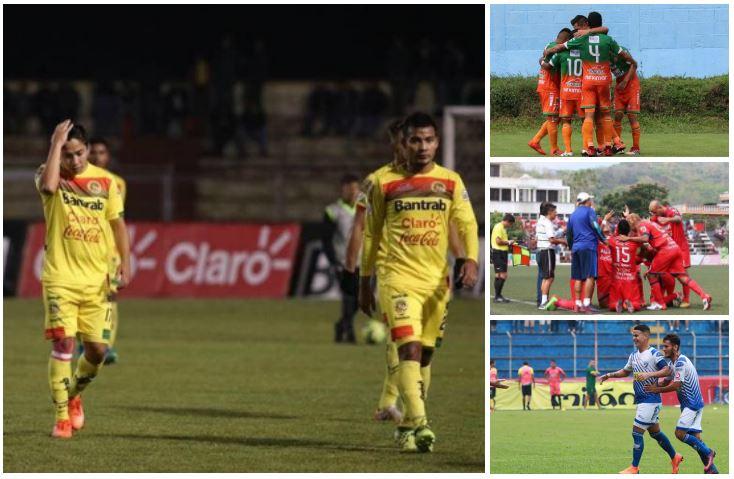 Marquense casi se despide de la Liga Nacional, mientras que Siquinalá, Malacateco y Suchitepéquez luchan por no descender. (Foto Prensa Libre: Hemeroteca)