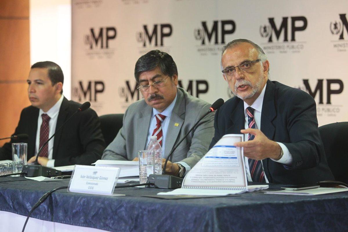 Cicig señala a Telgua por financiamiento electoral ilícito al PP a través de Sinibaldi y Ligorría