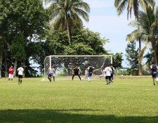 Siquinalá realizó un partido amistoso frente a Juventud Palineca. (Foto Prensa Libre: Carlos Paredes)