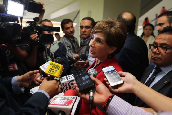 Nineth Montenegro, secretaria de Encuentro Por Guatemala y diputada, enfrenta un proceso de antejuicio por financiamiento electoral anónimo. (Foto Prensa Libre: Hemeroteca PL)