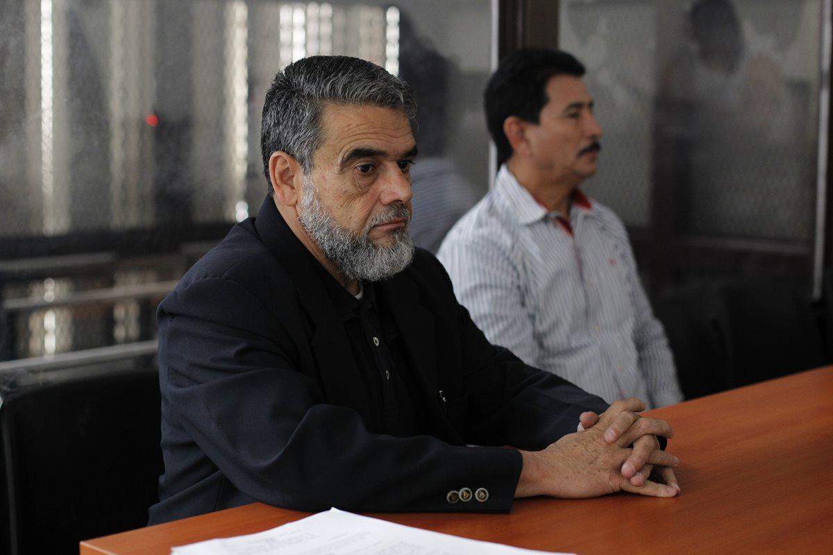Manuel Barquín, durante una audiencia judicial el 31 de marzo de 2017. (Foto Prensa Libre: Hemeroteca PL)