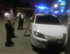 Dos mujeres murieron en el vehículo que se trasladaban, en zona 3 de Mixco.