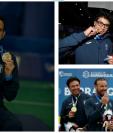 Los medallistas guatemaltecos recibirán su recompensa económica por las medallas conquistadas en Barranquilla. (Foto Prensa Libre: Hemeroteca PL)