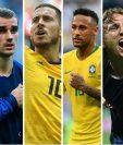 De momento se han confirmado tres de las cuatro llaves que pelearán por jugar las semifinales de la Copa del Mundo. (Foto Prensa Libre: TodoDeportes)