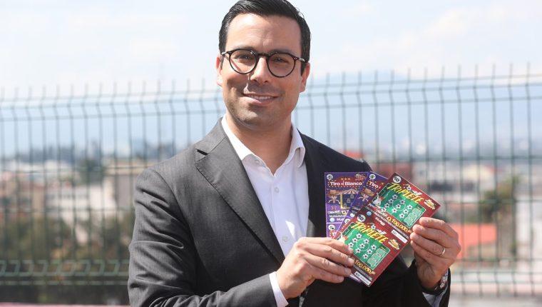 Yossi Abadi, gerente de Grupo Internacional Tenlot, habla sobre la inversión en Lotería del Niño y no descarta más inversiones en otros sectores en Guatemala. (Foto, Prensa Libre: Érick Ávila).