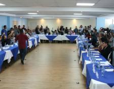 Cuarenta y dos asambleístas aceptaron la renuncia del Comité Ejecutivo de la Fedefut. (Foto Prensa Libre: Fedefut)
