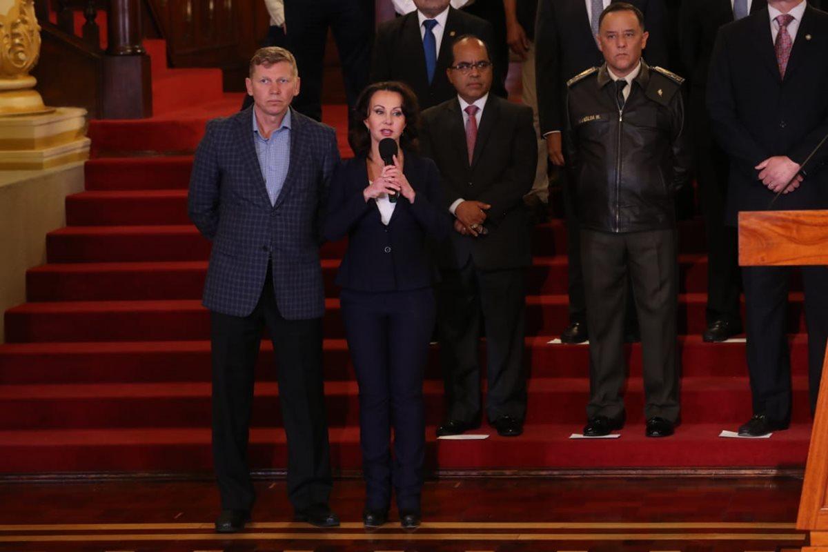 Jimmy Morales arremete contra Cicig, ONU, CC, MP y el TSE