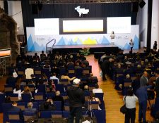 La Vigésima Segunda Conferencia de Zonas Francas de Las Américas que se lleva a cabo en Antigua Guatemala. (Foto, Prensa Libre: Julio Sicán).