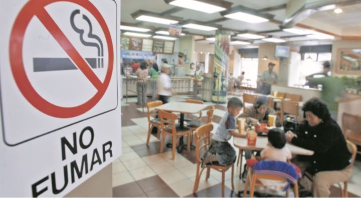 Salud irá tras negocios que incumplen ley de espacios libres de humo de tabaco
