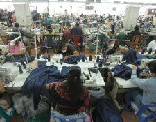 El volumen de pedidos para artículos de vestuario registra un incremento para atender la temporada de fin de año en los Estados Unidos, reporta Vestex. Este sector lidera las exportaciones a julio. (Foto Prensa Libre: Hemeroteca)