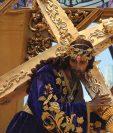 Jesús del Consuelo procesiona el sábado anterior al domingo de Ramos. (Foto: Hemeroteca PL)