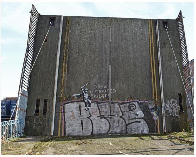El artista conocido bajo el seudónimo Bansky nació en 1975. (Foto Prensa Libe: Instagram @Bansky)