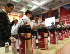 Las subastas electrónicas de café permiten a los productores tener precios superiores a la media del mercado. (Foto Prensa Libre: Álvaro Interiano)