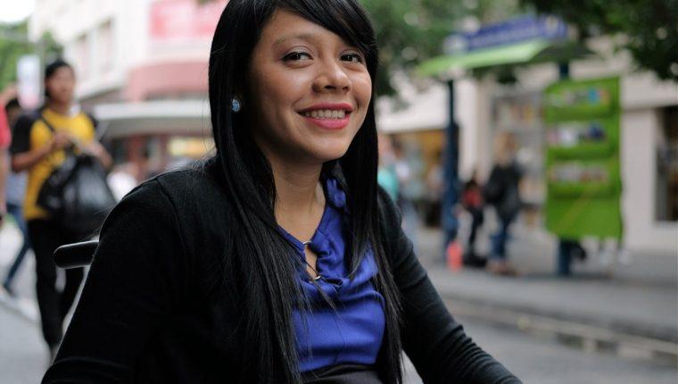 Pahola Solano, un ejemplo de motivación y superación, representará a Guatemala (Foto Prensa Libre: J. Ochoa).