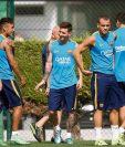 Luis Enrique volvió a dar declaraciones y habló de su relación con Leo Messi. (Foto Prensa Libre: Hemeroteca PL)